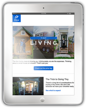 Zillow Tiny Living Newsletter