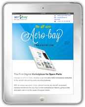 Aero Bay Welcome Email and Weekly Newsletters