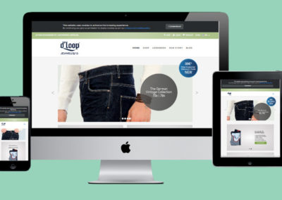 D Loop Jeans Website