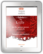 Temples and Markets Valentine Sales Promotion