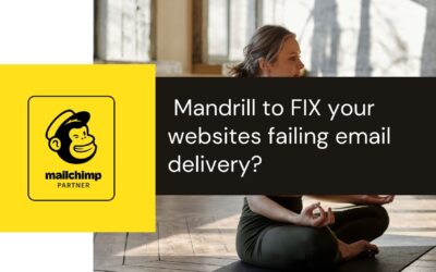 Spa Boutique owners wordpress website not sending emails fixed by integrating webserver with Mandrill API
