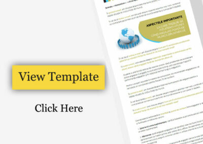 Email Template design for promote your service