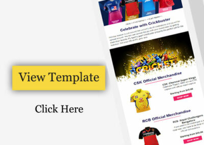 Email Template for Promote to IPL uniform