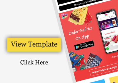 Email Template Design For Mobile App Promotion