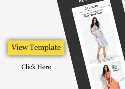 Email Template For Fashion Outfits